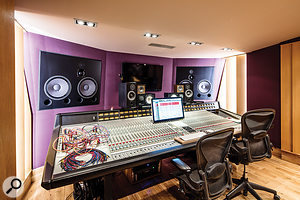 Studio B is home to this G-series SSL.