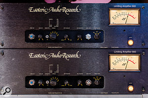 Inspired by the Fairchild 660, the EAR Limiting Amplifiers have now become classics in their own right.