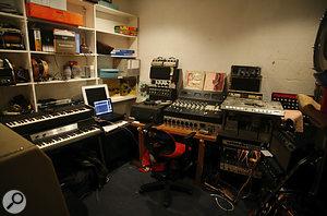 Will Holland's Brighton studio.