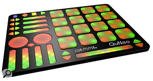 <strong>QuNeo is designed to work via USB, MIDI or OSC right out of the box: </strong>KMI QuNeo