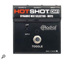 Radial HotShot DM1 dynamic mic selector.