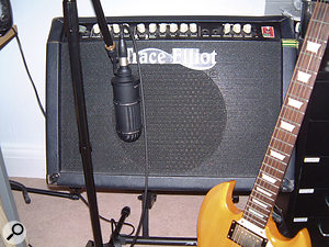 A recent purchase is the Oktava ML52 ribbon mic, which is used mainly on electric guitar.