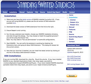 Standing Water Studios' Extensions pack costs nothing and provides a  wealth of useful facilities for Reaper users.