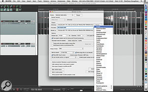Reaper's Render dialogue box offers a  huge degree of flexibility over what type of files are to be created and how they are named.