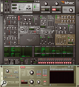 This is what we'll be working towards: the final patch, with the RPG8 triggering notes and Thor's own sequencer, generating an 'arp within an arp'.