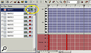 Solo each track individually as you audition it, to make sure that it's looping seamlessly.