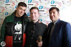 (L-R) Mark Ronson, Al O'Connell, Damian Wilson (Rode)
