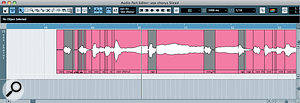 We've all used beat‑slicers (such as that in Cubase, pictured) to, erm, slice beats. But they can also be used more creatively on vocal parts.