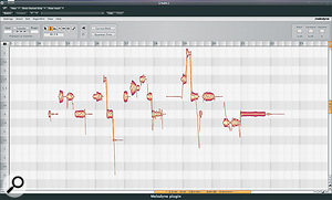 Celemony Melodyne is one of the most versatile tools in a remixer's tool kit. As well as allowing you to change notes within a phrase, it's a great way of reducing problematic vibrato — which can sound very wrong when time‑stretched — as shown here by the last note, on the right.
