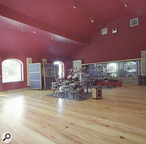 The Grouse Lodge live room.