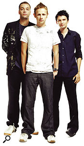Muse (left to right): Chris Wolstenhome, Dominic Howard and Matthew Bellamy.