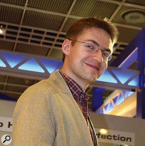 Martin Björnsen, developer of the renowned Hammerfall hardware.