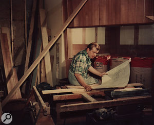 As well as designing much of the equipment that went into his studios, Bill Putnam also planned and built the studios themselves.