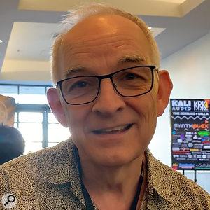 Roger Linn at Synthplex 2019.