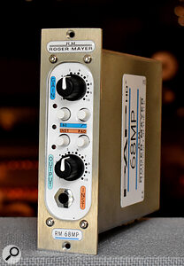 The 68MP: aquirky, but great‑sounding mic preamp.