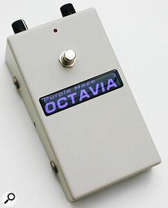 Roger Mayer Purple Haze Octavia Analogue Octave Pedal