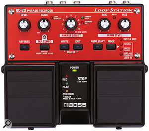 2001 saw changes to the tried-and-tested format of Boss's guitar pedals, with the arrival of the Twin Pedal range.