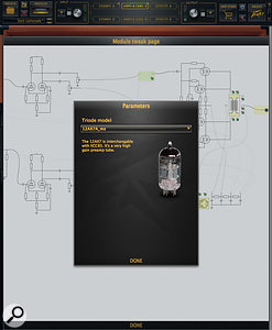 ReValver4 allows the user to tweak individual components of a module without any danger of death by electrocution.