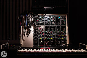 A mouthwatering selection of instruments includes this Formant modular synth.