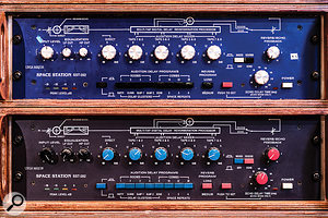 Vintage reverb choices include a pair of Ursa Major Space Stations.