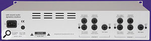 The Dynamics Toolbox includes two output jacks per channel: the electronic output comes as standard, and this review unit came with the optional Lundahl transformers on each channel. Further transformer options are planned.