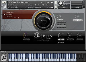 Orchestral Tools' Berlin Strings for Kontakt.