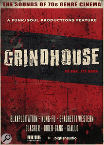 Big Fish Audio Grindhouse cover artwork.