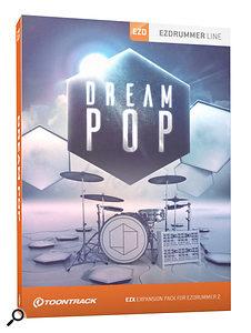 Toontrack Dream Pop EZX box.