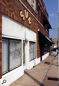 The Memphis Recording Service (now Sun Studio) at 706 Union Avenue.