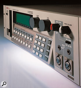 The former 'gold standard' of hardware samplers, the Akai S1000.