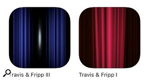 Travis & Fripp I and III apps.