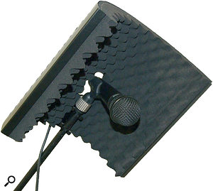 The Peakulizer Mini, intended for use with smaller instrument mics.