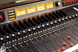 Kevin Augunas has relied on his vintage Altec 9200 console for five years.