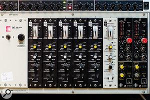 Vintage Neumann and EMT modules in Studio 1.