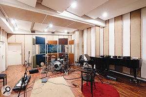 The Studio 1 live room.