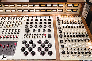 Studio A's custom DeMedio console was built for Wally Heider in 1967.