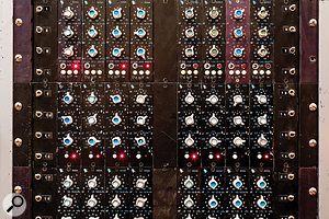 Originally based on Universal Audio modules, the Studio A  console was later expanded with API modules.