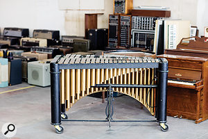 This very vibraphone can be heard on the Beach Boys' classic Pet Sounds album.