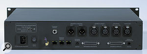 The rack unit includes provision for foot-switch operation of internal or external talkback mics.