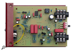 The D1's circuit board.