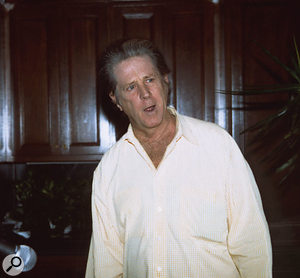 Brian Wilson during the final writing sessions for SMiLE, Los Angeles, late 2003.