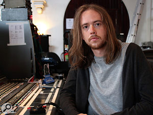 Riley MacIntyre, the author and in-house Assistant Engineer at The Church recording studio.