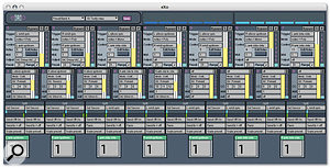 The supplied Exo software consists of a number of MIDI processing modules, which can trigger notes or controller data.