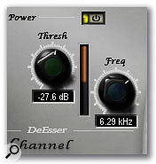Like the noise gate, this is a simple processor that has uses other than its intended one.