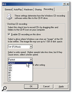 Before using Sonar's ability to burn CDs, make sure that Windows is set up properly.