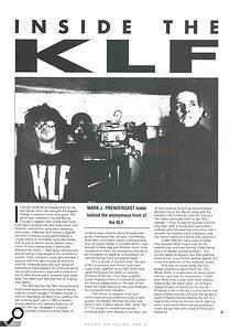 Sound On Sound KLF interview