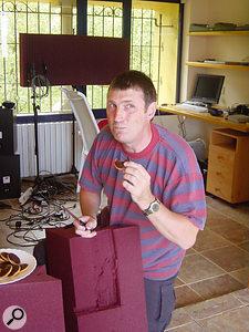 Paul White, Paul White...He's a secret Jaffa Cake eater...
