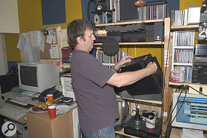 Even when Paul switched the Absolute IIs for his own Mackie HR624s, which have a better bass response, some adjustment of the speakers' onboard frequency tailoring switches was required to give a representative low-end picture.