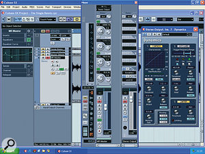 Here you can see the mix processing settings used to polish Chris's mixes.