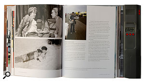 The book is illustrated with plenty of stills from the Star Wars movies, but also features audio clips.